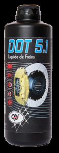 Liquide de freins DOT 5.1