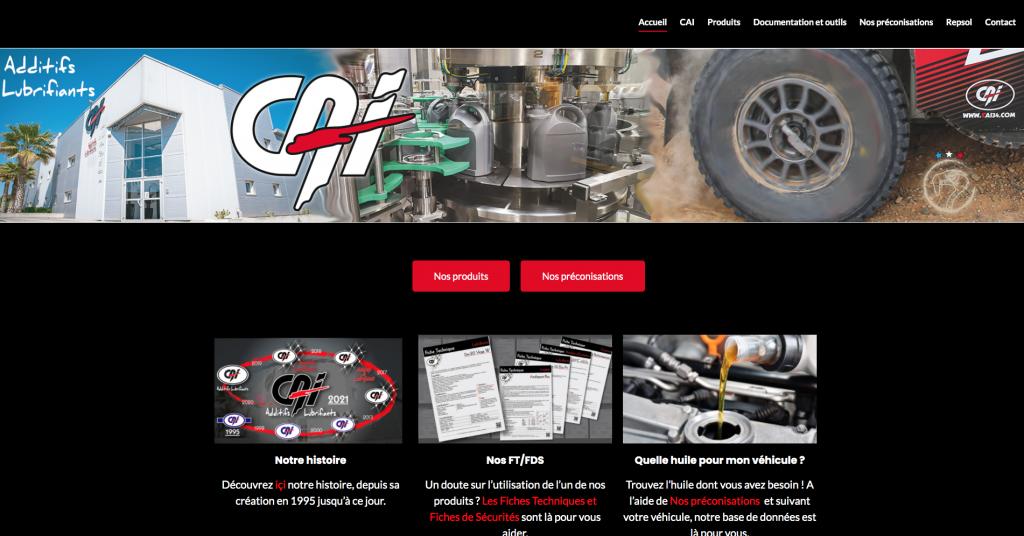 Nouvelle évolution du site web